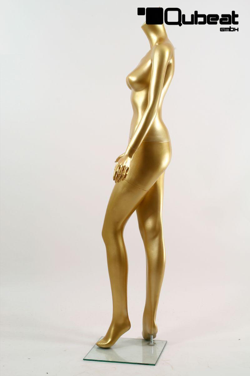 schaufensterpuppen weiblich ohne kopf gold. Black Bedroom Furniture Sets. Home Design Ideas